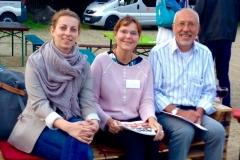Der Vorstand: Annegret Spillner, Ramona Burmester, Jürgen Lenski