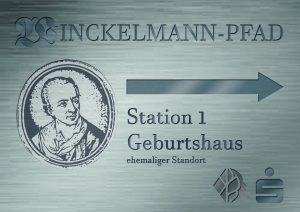 Winckelmann-Pfad Station 1