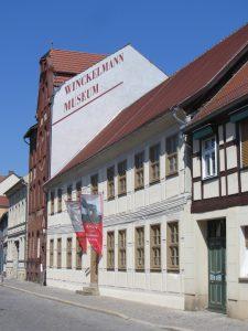 Winckelmann-Museum, Station 1: Geburtshaus (ehemaliger Standort)